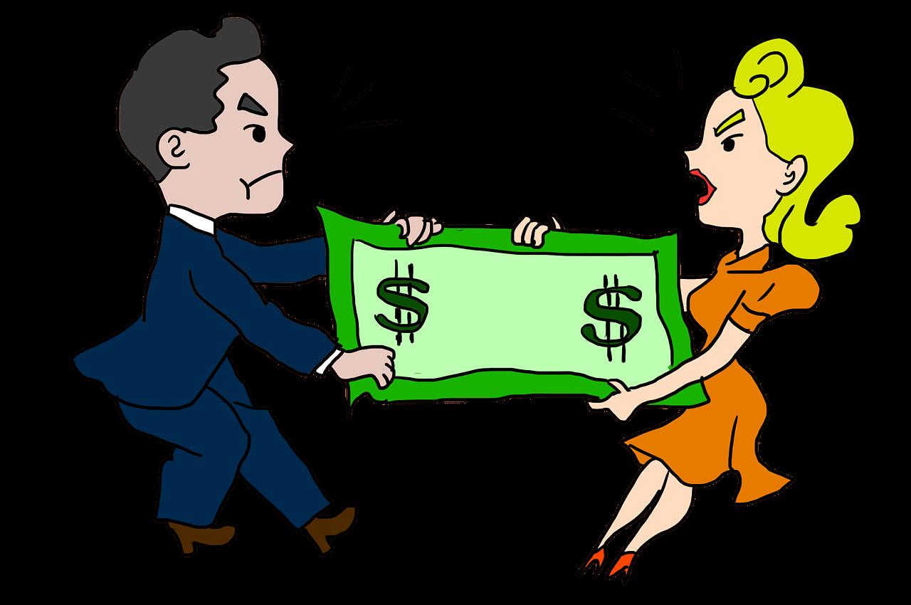 حق دخالت در دارایی و درآمد همسر توسط مرد